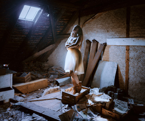 attic, ballet, and dance image