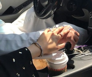 couple, forever, and holding hands image