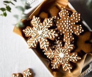 christmas, holiday, and Cookies image