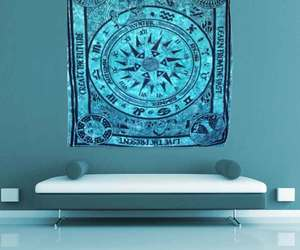 bohemian, home decor, and tree of life tapestry image