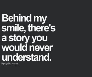 quotes, smile, and story image