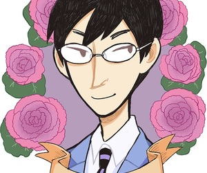 ouran and kyoya image