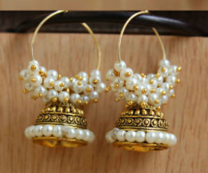 earrings, handmade jewelry, and jewelry image