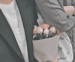 aesthetic, flowers, and cute image