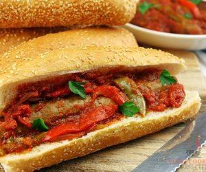 dinner, nom nom nom, and sausages image