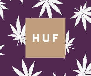weed, huf, and background image