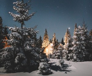 wallpaper, winter, and snow image