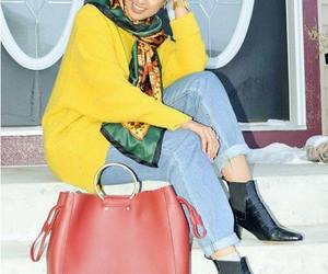 hijab, scarf, and turban style image