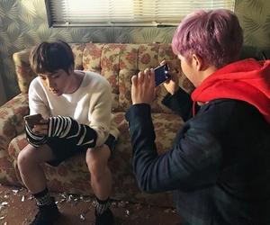 bts, seokjin, and namjoon image
