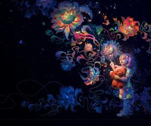 мечта, ребенок, and краски image