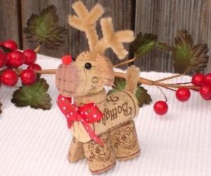 ideas4diy, christmas crafts, and wine cork ornaments image