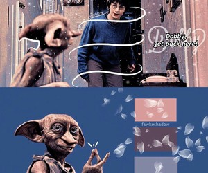 harry potter and dobby a free elf image