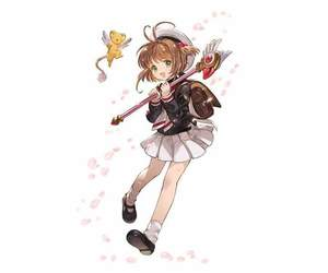 kero, sakura kinomoto, and sakura image