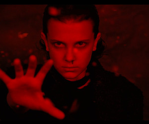 eleven, red, and powers image