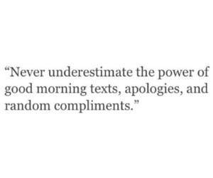 quotes, apology, and compliments image