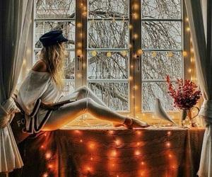 lights, christmas, and fashion image