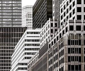 bw, city, and minimal image