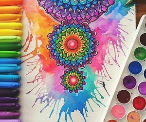 colores, dibujo, and diseno image