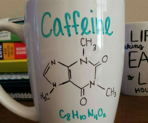 caffeine, diy, and mug image