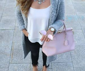 accessories, fashion, and statement necklace image