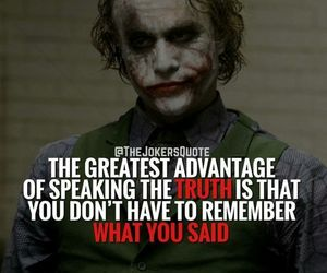 joker, quote, and truth image