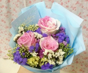 21, bouquet, and flower image
