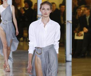 angel, model, and runway image