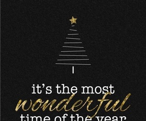 christmas, black, and quotes image