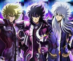 Saint Seiya, garuda aiacos, and knights of the zodiac image
