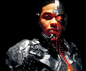 cyborg, justice league, and dc comics image