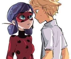 Adrien, ladybug, and ladrien image