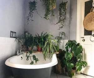 bath, bathroom, and decor image