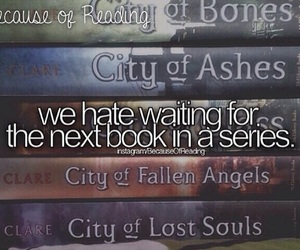 books, the mortal instruments, and city of bones image