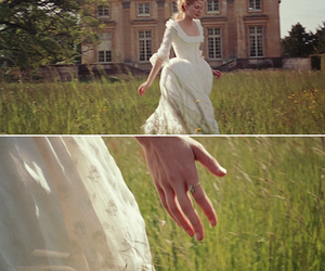 field, maria antonieta, and white dress image