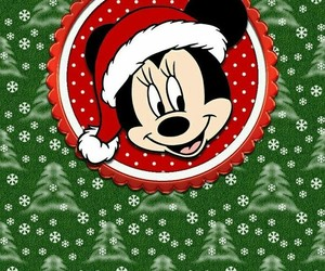background, christmas, and disney image