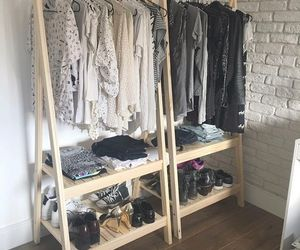 clothes, shoes, and wardrobe image