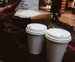 coffee, shopping, and drinks image