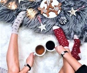 christmas, style, and warm image