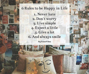 happiness, life, and quotes image
