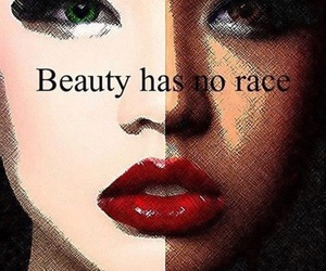 beauty and race image