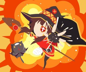 anime, konosuba, and megumin image