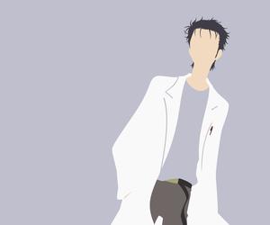 anime, okarin, and okabe image