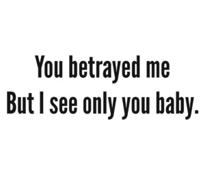 baby, hurts, and i loved you image