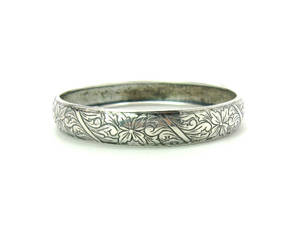 beau, rounded, and sterling silver image