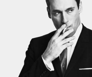 cigarette, madmen, and man image