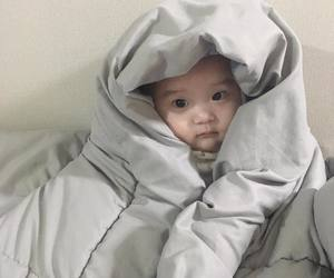 asian baby, baby, and korean image
