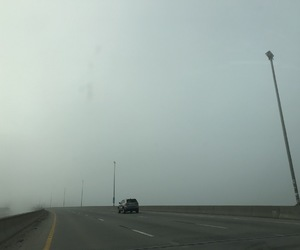 alternative, driving, and fog image