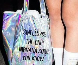 nirvana, grunge, and bag image