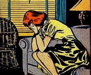 comic, dick, and girls image