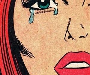 pop art, comic, and girl image